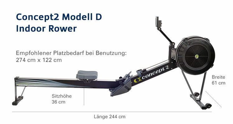 Concept 2 Model D Rowing Machine UK