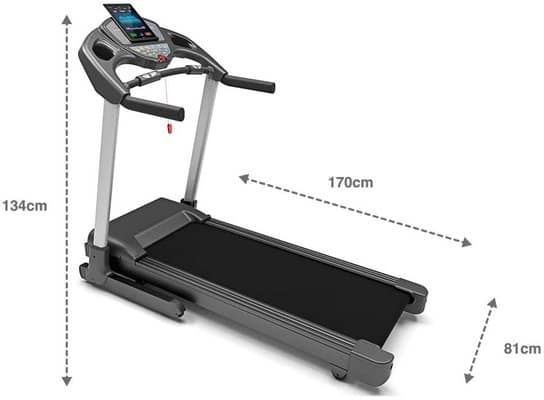 Bluefin Fitness KICK Innovative High-Speed Folding Treadmill