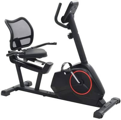 vidaXL Magnetic Recumbent Exercise Bike