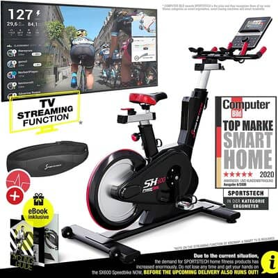 Sportstech Exercise Bike Indoor Cycling
